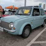 JDM Nissan Pao.  Cool little car.