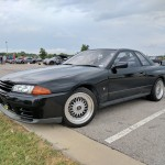 R32 GTR. One of my favorite cars ever.  I think this is the first time I've seen one up close.