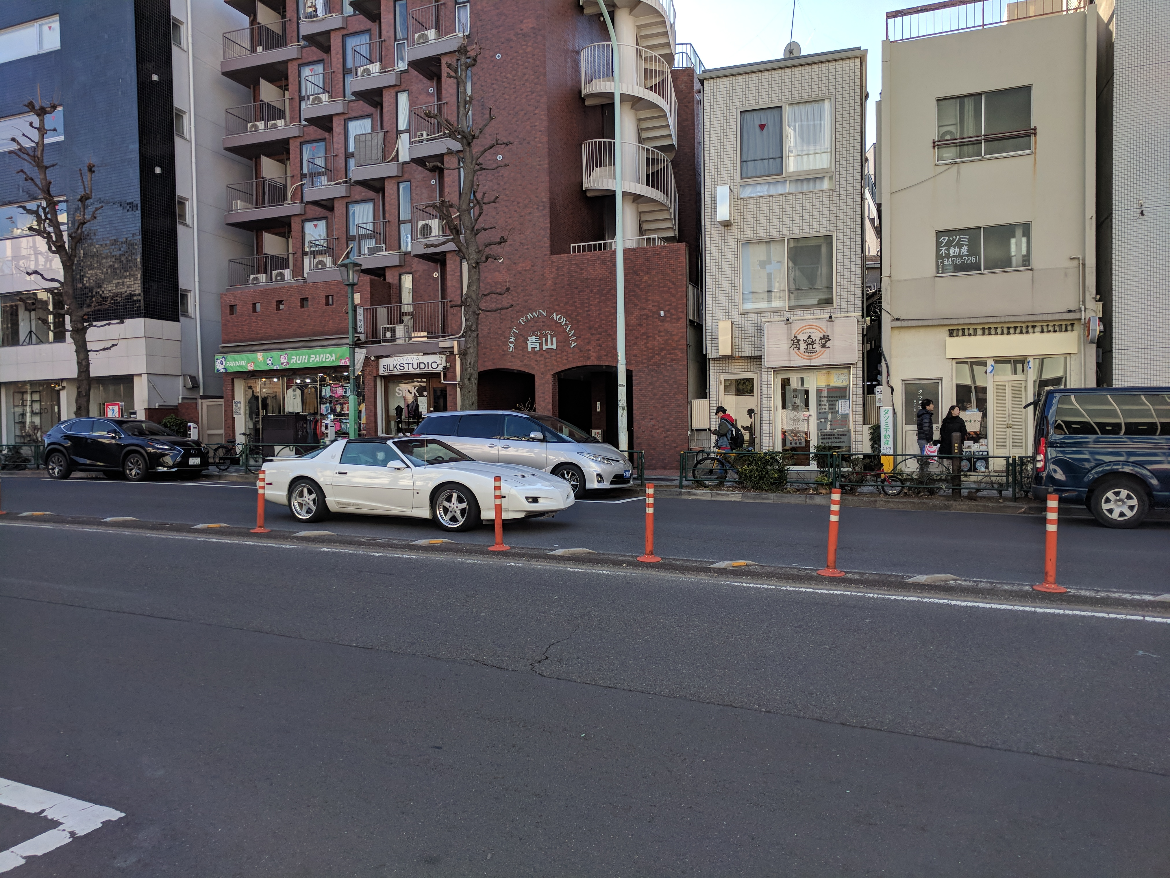 3rd Gen F-Body on Work Equip 05's in Harajuku