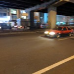 I was barely able to get my camera read in time when I saw this red AE86 headed my way in Akihabara.